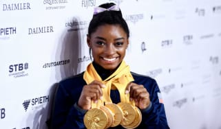 Simone Biles won five gold medals at the 2019 Gymnastics World Championships in Stuttgart