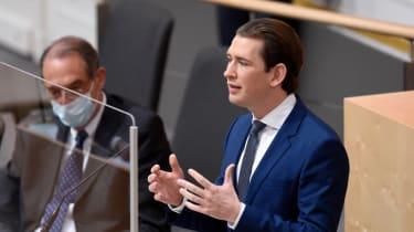 Austrian Chancellor Sebastian Kurz