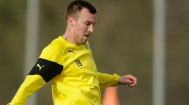 Kevin Grosskreutz of Borussia Dortmund