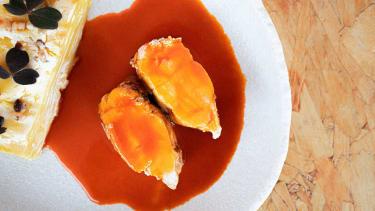 Monkfish 'Paprikas'