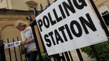 AV Alternative Vote referendum, election, polling station
