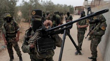 Islamic Jihadists in training