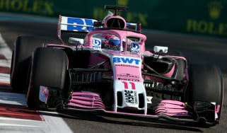 Sergio Perez will be joined at Racing Point F1 Team by Lance Stroll for the 2019 season