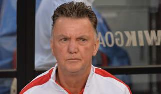 Manchester United coach Louis van Gaal