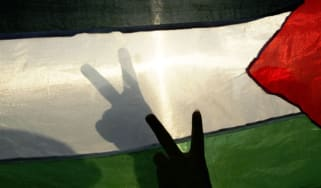 The Palestinian national flag