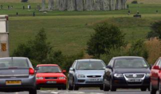 A303 at Stonehenge