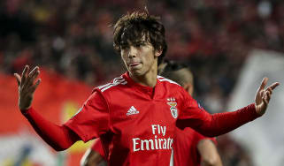 Benfica star Joao Felix is regarded as one of European football's hottest talents