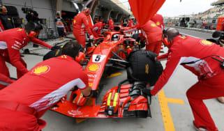 Ferrari and Sebastian Vettel will hope for success in the 2019 F1 season