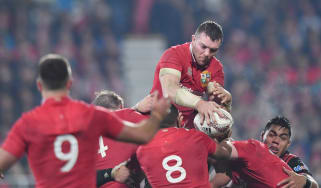 Lions captain Peter O'Mahony