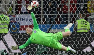 Everton goalkeeper Jordan Pickford starred for England at the 2018 Fifa World Cup in Russia