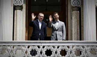 Recep Tayyip Erdogan and Bashar al-Assad