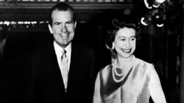 The Queen and Richard Nixon