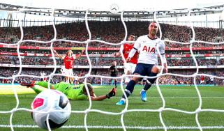 Christian Eriksen scored Tottenham's opening goal in the 2-2 draw against Arsenal