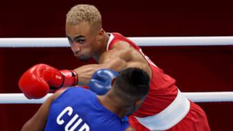 Ben Whittaker Team GB boxing