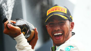 Mercedes driver Lewis Hamilton has won six Formula 1 world championships