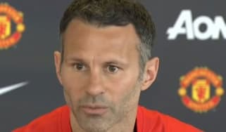 Ryan Giggs' first press conference as United manager