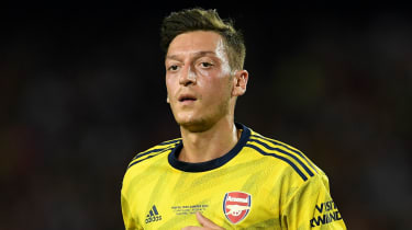 Arsenal signed Mesut Ozil from Real Madrid in 2013