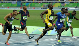 Usain Bolt 2016 Olympic 100m final Rio