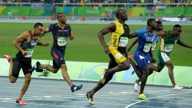 Usain Bolt 2016 Olympic 100m final Rio