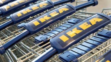 Ikea shopping trollies