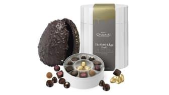 Hotel Chocolat ostrich eggs