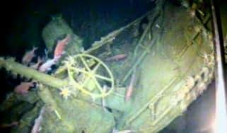 Wreck of HMAS AE1