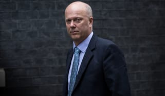Chris Grayling outside No. 10