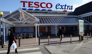A Tesco Extra supermarket