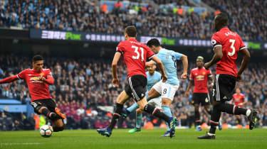 Ilkay Gundogan goal Man City vs Man Utd