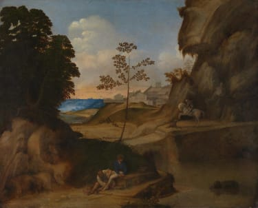 Giorgione's painting Il Tramonto (The Sunset)