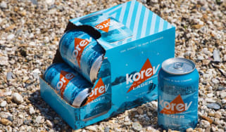 Korev Cornish Lager by St Austell Brewery