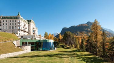 Grand Hotel Kronenhof in Pontresina, Switzerland