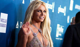 Britney Spears attends an awards ceremony in Los Angeles in April 2018
