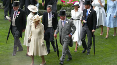 Prince Harry and Meghan Markle at Ascot