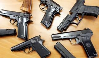 Stolen guns lead to teen's arrest