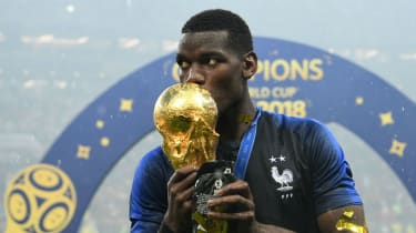 Paul Pogba starred as France won the 2018 Fifa World Cup in Russia