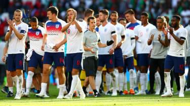 England World Cup team guide Gareth Southgate Harry Kane