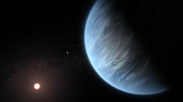 K2-18b, Planet, star, Nasa