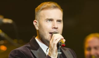 LONDON, ENGLAND - DECEMBER 06:Gary Barlow performs at a concert in support of The Prince's Trust and The Foundation of Prince William and Prince Harry at the Royal Albert Hall on December 6,