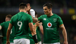 Conor Murray and Johnny Sexton will start their 56th Test match together at half-back