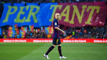 Andres Iniesta Barcelona final match Real Sociedad