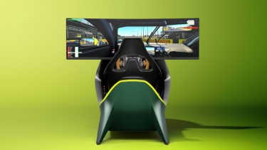AMR-C01 Aston Martin racing simulator