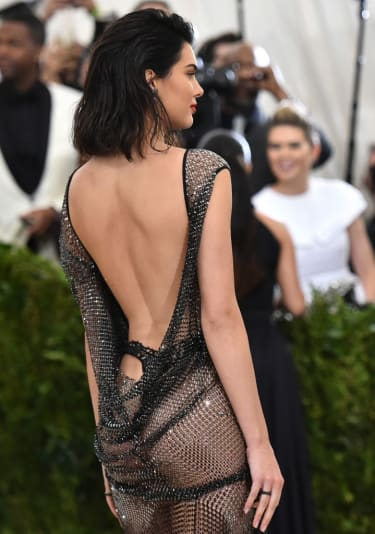"""NEW YORK, NY - MAY 01:Kendall Jenner attends the """"Rei Kawakubo/Comme des Garcons: Art Of The In-Between"""" Costume Institute Gala at Metropolitan Museum of Art on May 1, 2017 in New York City.("""