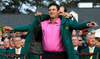 Patrick Reed 2018 Masters champion Green Jacket golf