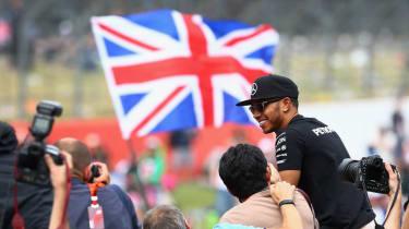 Lewis Hamilton British GP