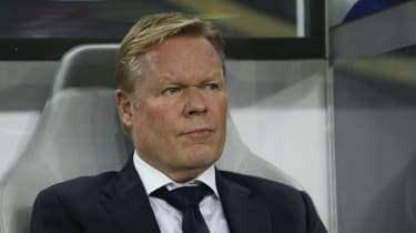 Ronald Koeman has been appointed as head coach of FC Barcelona