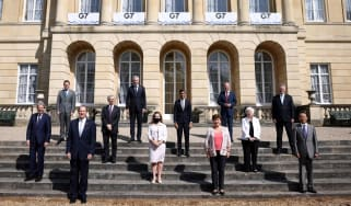 G7 finance ministers met at Lancaster House in London