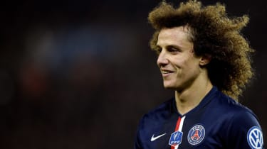 David Luiz of Paris Saint-Germain