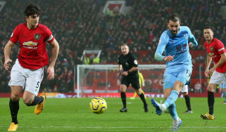 Jay Rodriguez scored a superb goal for Burnley against Man Utd at Old Trafford