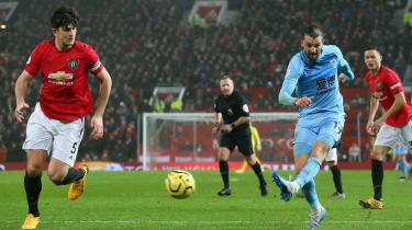 Jay Rodriguez scored a superb goal for Burnley against Man Utd at Old Trafford